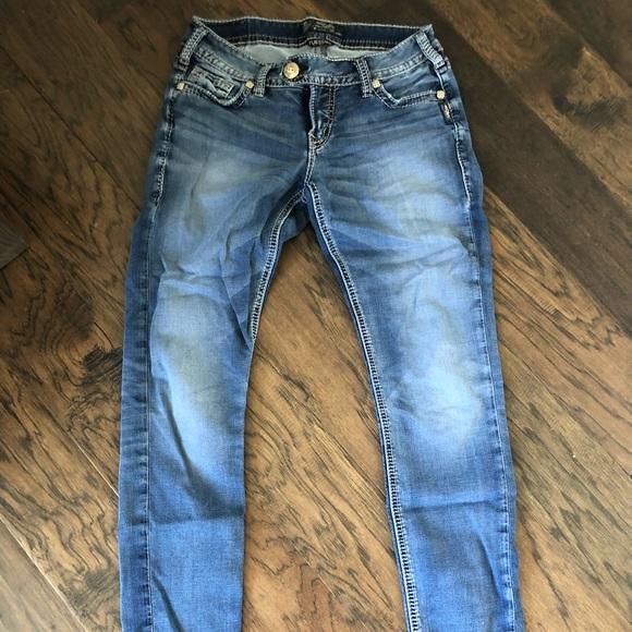 Silver jeans bootcut super soft
